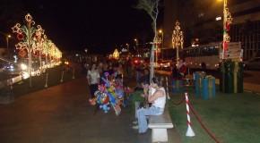 Decoração de Natal, feita pela CDL, é inaugurada em Araxá