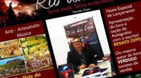 Renato Zupo lança livro, Rio da Lua, no próximo dia 11
