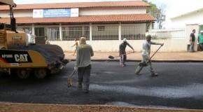 Recapeamento de avenida em Serra do Salitre resolve problemas de décadas
