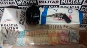 Preso acusado de roubo e materiais são recuperados pela PM em Araxá