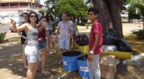 Universitários realizam intervenções urbanas em Patos de Minas