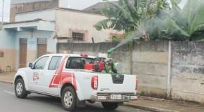 Carro Fumacê Pesado vai circular por bairros de Araxá nos próximos dias