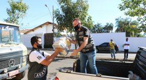 Campanha Vacinação Solidária repassa mais de duas toneladas de alimentos para instituições de Araxá